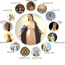 Apparitions and pictures of Virgin Mary