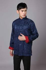 <b>Tang suit</b> Chinese <b>Traditional clothes</b> vintage style <b>men's</b> long ...