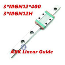 New <b>HIWIN</b> HGR25 <b>Linear Guide</b> Rail 300mm With <b>2Pcs</b> Of Linear ...