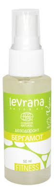 Купить <b>натуральный дезодорант</b>-спрей бергамот fitness <b>50мл</b> ...