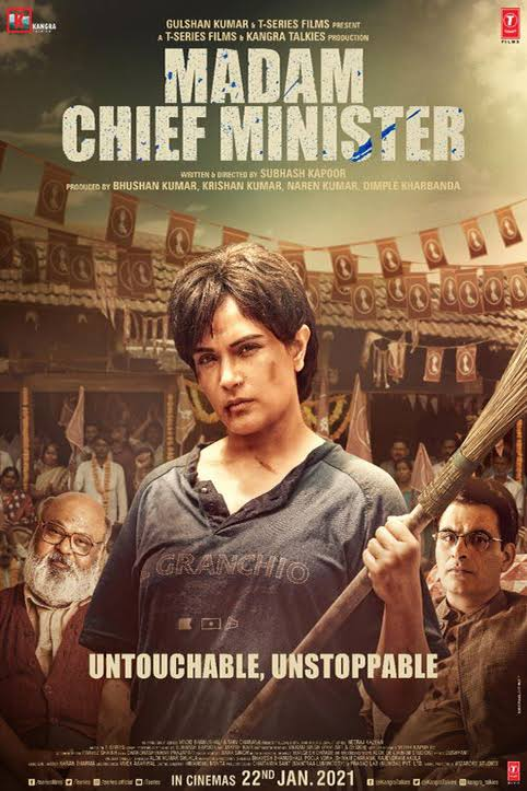 Download Madam Chief Minister (2021) Hindi Full Movie 480p | 720p