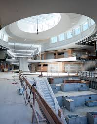 a sneak peek of the new del amo fashion center nordstrom store grand court under construction phase 2 s