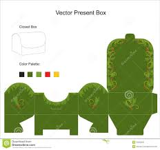 template present box stock photography image  vector template for gift box royalty stock photo