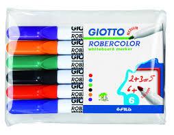 набор маркеров для доски attache 4 цвета