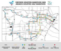 Street Closures - Chevron Houston Marathon