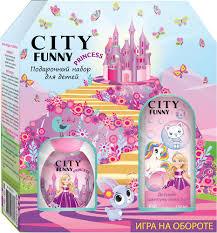 Отзывы на City Parfum <b>Парфюмерный набор City Funny</b> Princess ...