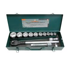15 Pc 3/4″ Dr. 6pt Flank Socket Set – <b>Jonnesway</b> Professional Tools