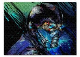 Пазл 43.5 x 31.4 (408 элементов) <b>Mortal</b> Kombat X (Sub-Zero ...