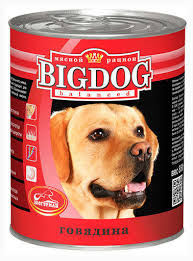 Купить <b>Консервы</b> для собак «<b>Зоогурман</b>» <b>Big Dog</b> говядина, 850 г ...
