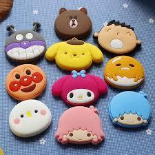 <b>10</b> pcs silicone Cute animal <b>fridge</b> magnets whiteboard sticker ...