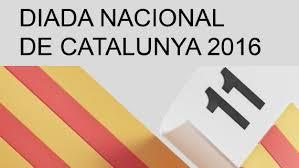 Resultat d'imatges de diada a barcelona 2016
