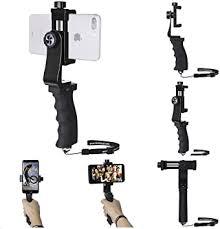 Ergonomic Smartphone Vlogging Hand Grip Stabilizer <b>Mobile</b> Cell ...