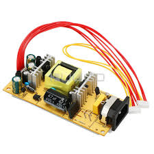 <b>AC</b> 110V/220v to <b>DC 12V</b>/5V <b>LCD</b> Dual Voltage Power Supply ...