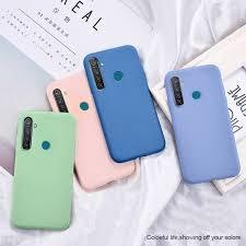 Oppo Realme C2, C3/5/5i/5s/6i <b>Liquid Silicone Soft Phone</b> Case ...