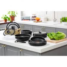 Купить Набор посуды <b>Tefal Ingenio BLACK</b> 5 22/26см 04181810 ...