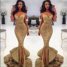 Evening <b>Dress</b> Mermaid Luxury Sparkle <b>Bling Sheer</b> Necklace See ...