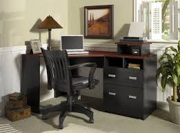Corner Home Office Furniture With Exemplary Black Small Desk Wonderful  Decorating Ideas