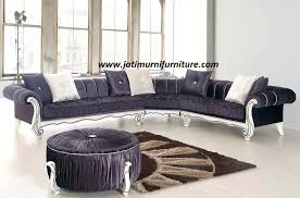 kursi tamu sofa: Kursi sofa tamu klasik sudut jmf 50