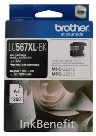 <b>Картридж Brother LC567XLBK</b> — купить по выгодной цене на ...