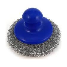 <b>Мочалка металлическая Guten tag</b> с пластмассовой ручкой ...
