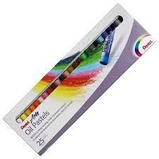 <b>Масляная пастель</b> 25 цветов <b>Pentel Arts</b> Oil Pastels, купить в ...