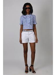 Купить белые женские <b>шорты</b> в интернет магазине WildBerries.ru