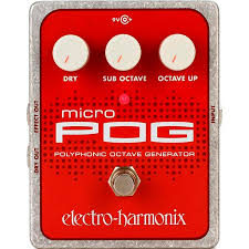 Купить Electro-Harmonix (EHX) Micro POG Polyphonic <b>Octave</b> ...