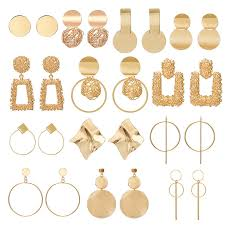 <b>Fashion Statement Earrings</b> 2018 <b>Big</b> Geometric <b>earrings</b> For ...