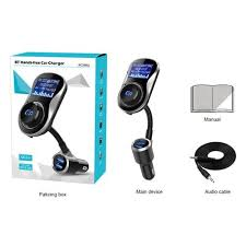 Generic BC26BQ <b>Car Charger</b> MP3 Handsfree Phone <b>Big Screen</b> ...