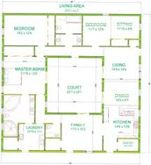 traditional  ese house floor plan   Google Search   floorplans    Center Courtyard House Plans     square feet this is one of my bigger houses