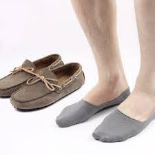 Mens Anti Slip Invisible Socks 4 Pack These are the perfect no show ...
