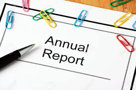 front cover of your annual report document for the financial front cover of your annual report document for the financial year end stock photo 24643315
