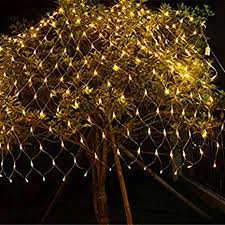 Buy Quace <b>LED</b> Fairy String Decorative <b>Net Lights Net Mesh</b> Tree ...