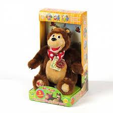 <b>Мягкая игрушка</b> Мульти-Пульти <b>&quot</b>;<b>Мишка</b> рассказывает 3 ...