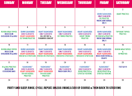 schedule gmat calendar template  schedule gmat