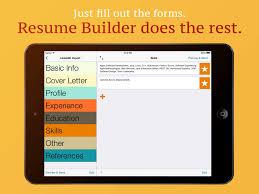 free resume builder app my resume buildercv free jobs myresume resume creator screenshot my resume builder free