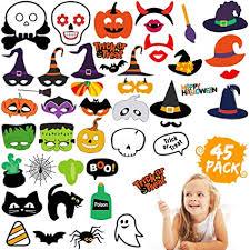 <b>Halloween Decorations</b> – <b>Pumpkin</b> Witch <b>Skull</b> Photo Booth Props ...