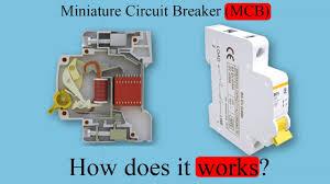 <b>Miniature</b> Circuit Breaker, (MCB), How does it work? - YouTube