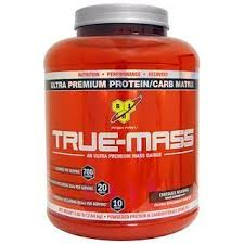 BSN, <b>True</b>-<b>Mass</b>, <b>Ultra Premium Protein/Carb</b> Matrix, Chocolate ...