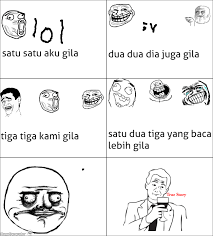RageGenerator - Rage Comic - Rage Meme Comic Lol [Indonesia Newbie] via Relatably.com