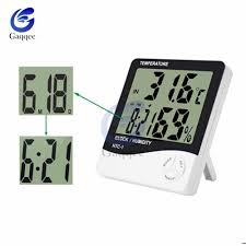For HTC 1 <b>Indoor Room LCD</b> Electronic Temperature Humidity ...