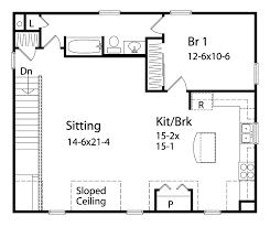 Benedict Garage Apartment Plan D    House Plans and MoreSouthern House Plan Second Floor   D    House Plans and More
