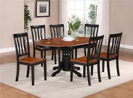 Kitchen Set Table And Chairs Detalles Acerca De 7 Pc Oval Dinette Kitchen Dining Set Table W 6