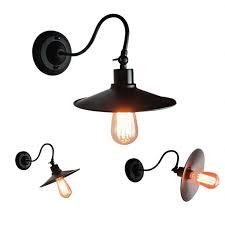 E27 American <b>Vintage Retro</b> Industrial Wind Outdoor <b>Wall Lamp</b> ...