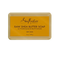 SheaMoisture Face and Body <b>Bar Soap</b> with Raw <b>Shea Butter</b>, 8 oz ...