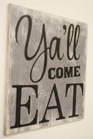wood sign glass decor wooden kitchen wall: yall come eat wood sign kitchen sign dining room sign vintage wall decor farmhouse