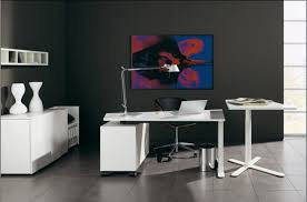 black and white home office black and white office design