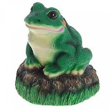 <b>Садовая фигура Лягушка на</b> камне F036, 24 х 22 х 20 см - купите ...