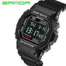 futuristic watches for men promotion shop for promotional style digital watch men military army watch water resistant date calendar led sports watches relogio masculino