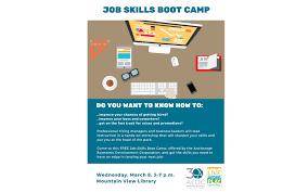job skills boot camp aedc